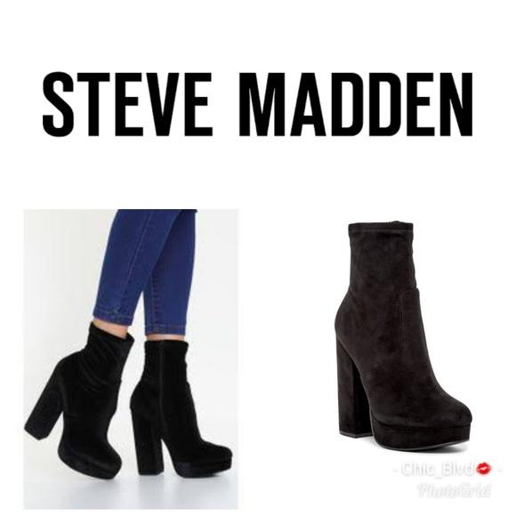 37422167536 Steve Madden Stardust Platform Ankle Boots. M 5b21b34b3c984477dc0fbea9